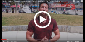5 Perfect Muscle-Building Foods! [VIDEO]